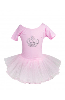BALLET CROWN DRESS (PINK)