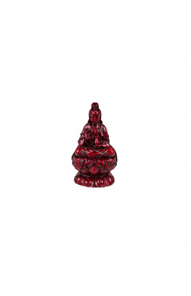 GUAN YIN (RED WOOD) STATUE