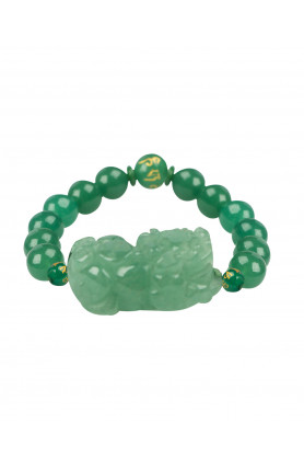 JADE PI YAO WITH GREEN BRACELET