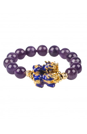 THERMO COLOR PI YAO WITH PURPLE BRACELET