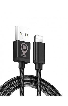 APPLE USB CHARGING CABLE WITH GPS LOCATOR POSITIONING