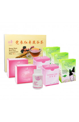 MISCARRIAGE CARE PACKAGE (EARLY TERM 1)  小月子调理配套(早期 1) ..