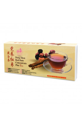 DANG SHEN RED DATE CONCENTRATE PLUS (30PACK/BOX) 党参红枣蔬谷..