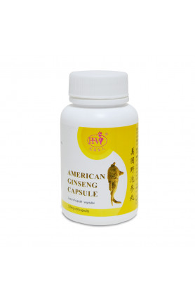 AMERICAN GINSENG CAPSULE 美國野泡參丸
