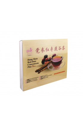 DANG SHEN RED DATE CONCENTRATE PLUS (50PACK/BOX) 党参红枣蔬谷..