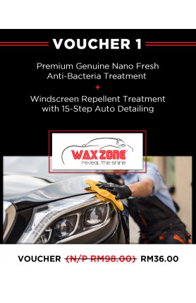 Voucher 1 - Premium Genuine Nano Fresh Anti-Bacteria Tr..