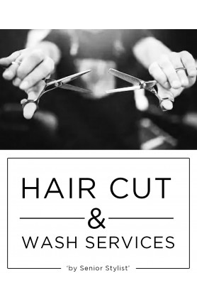 SENIOR STYLIST HAIR CUT & WASH SERVICES (FEMALE)