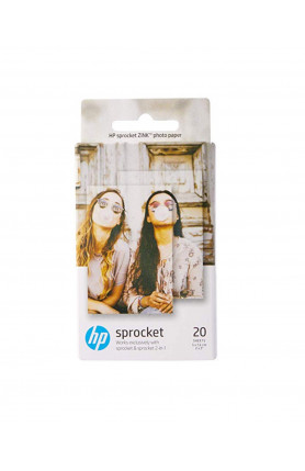 HP ZINK PHOTO PAPER 2 X 3 INCH (20 SHEETS)
