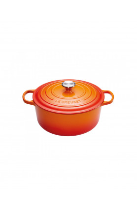 ROUND FRENCH OVEN 22CM (SG) - FLAME