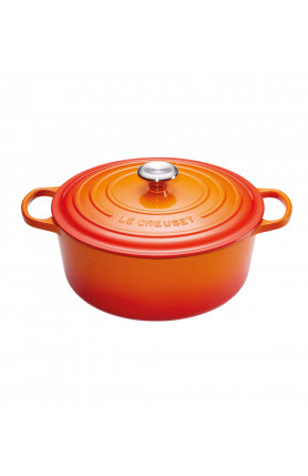 ROUND FRENCH OVEN 28CM (SG) - FLAME