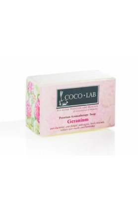AROMATHERAPY BODY SOAP (GERANIUM) 130GM