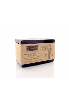 VCO BODY SOAP (BAMBOO CHARCOAL) 130GM