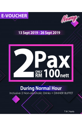 GRAND LAUNCH VOUCHER RM100 FOR 2PAX