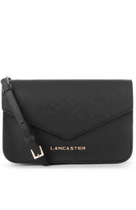 SAFFIANO SIGNATURE MINI CLUTCH WITH FLAP