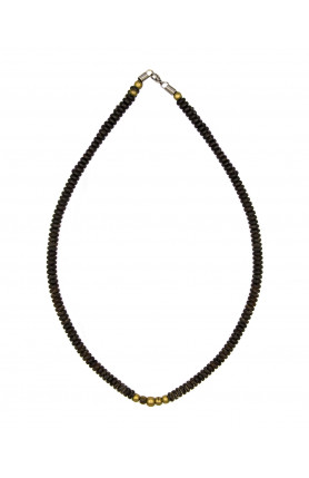 BRASS DETAILED NECKLACE 23CM