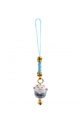 FORTUNE CAT TRINKET WITH BELL