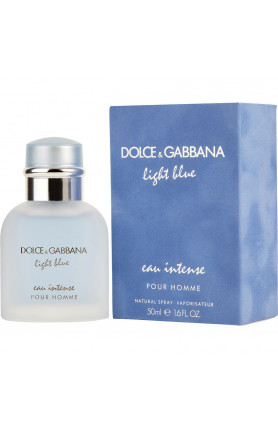 DOLCE & GABBANA LIGHT BLUE INTENSE POUR HOMME EDP 50ML..
