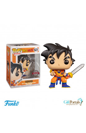 Exclusive Funko Pop! Animation – Young Gohan w/Sword 62..