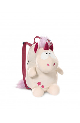 UNICORN THEODOR BACKPACK FIGURINE SHAPED PLUSH