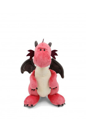 STANDING PINK DRAGON 30CM