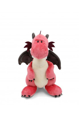 STANDING PINK DRAGON 50CM