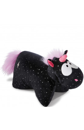 UNICORN CARBON FLASH CUDDLY TOY PILLOW