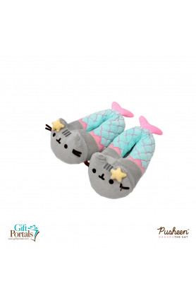 PUSHEEN MERMAID SLIPPER