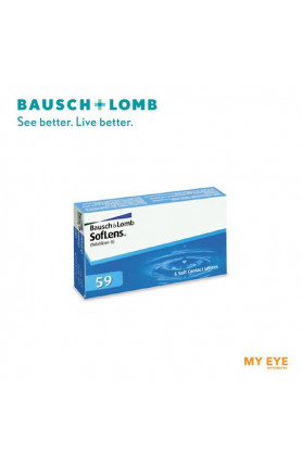 B+L SOFLENS 59 MONTHLY CONTACT LENSES
