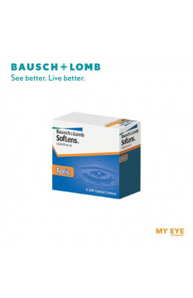 B+L SOFLENS 66 TORIC MONTHLY CONTACT LENSES