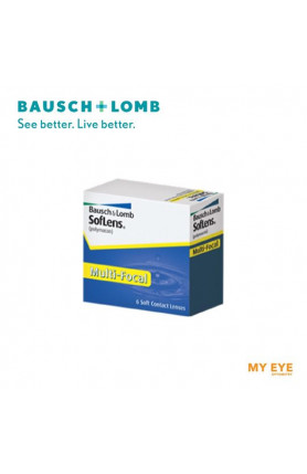 B+L SOFLENS MULTIFOCAL MONTHLY CONTACT LENSES