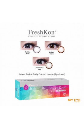FRESHKON COLORS FUSION DAILY CONTACT LENSES - SPARKLERS