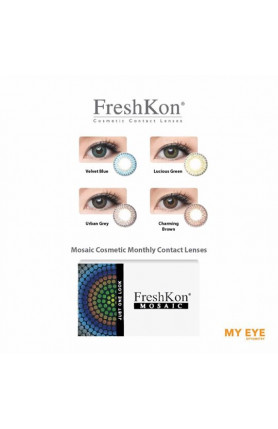 FRESHKON COLORS MOSAIC MONTHLY CONTACT LENSES