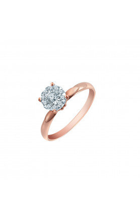 18K DAZZLE DELIGHT GOLD RING