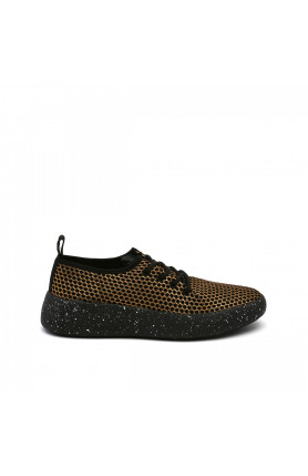 BO PLEATS MEN GOLD MESH