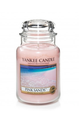 LARGE JAR PINK SANDS