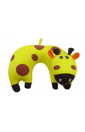 ARNOLD PALMER ANIMALS TRAVEL PILLOW COW SHAPE
