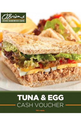 TUNA AND EGG CASH VOUCHER