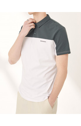 COLOR STITCHING POLO SHIRT