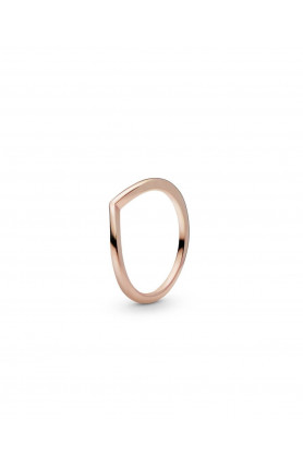 WISHBONE PANDORA ROSE RING