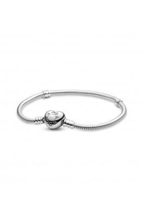 MOMENTS BRACELET WITH HEART-SHAPED CLASP