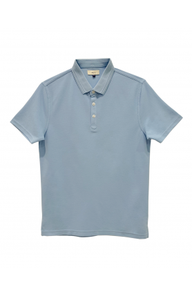 LIGHT BLUE SHORT SLEEVE MEN'S TEE
