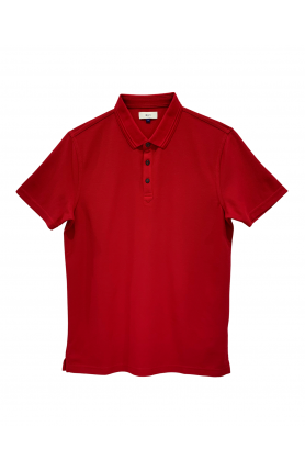 RED SHORT SLEEVE MEN'S TEE