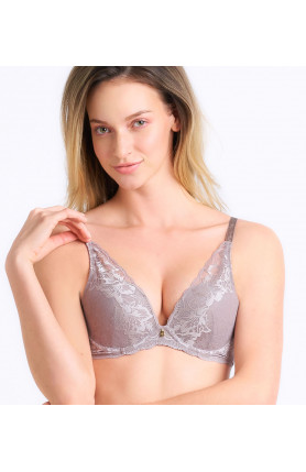 MAGIC WIRE LITE DEEP V NON-WIRED PUSH UP BRA