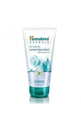 HIMALAYA OIL CONTROL LEMON FACE WASH 150ML