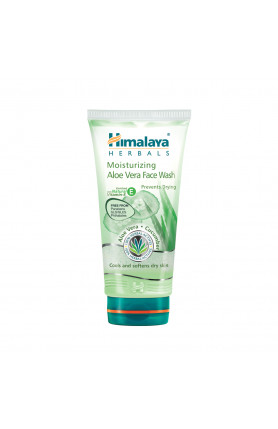 HIMALAYA MOISTURIZING ALOE VERA FACE WASH 100ML