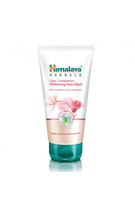 HIMALAYA CLEAR COMPLEXION WHITENING FACE WASH 150ML