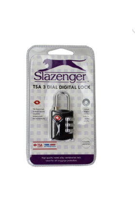 SLAZENGER TSA COMBINATION LOCK