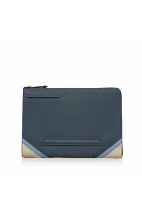MIDNIGHT NAVY BIG MONEY LARGE CLUTCH
