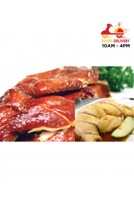 [FOOD DELIVERY] STEAMED/SOY SAUCE CHICKEN MENU