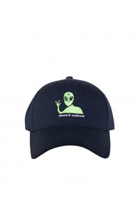 BLUE ALIEN CAP